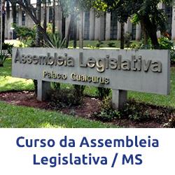 Curso Assembleia Legislativa MS - Assistente Legislativo