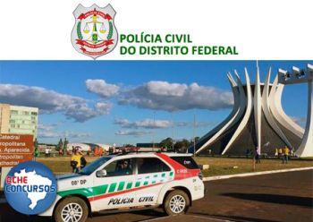 Polícia Civil-DF terá concurso com 300 vagas para Escrivão
