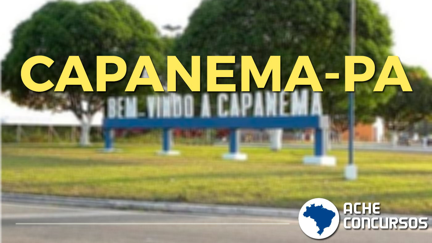 Capanema Pará fonte: www.acheconcursos.com.br