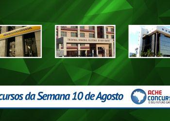 Concursos da semana - 10/08/2015 - Banco do Brasil abre 860 vagas