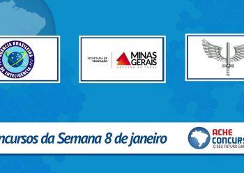 ABIN abre concurso com 300 vagas; veja as novas seleções de janeiro