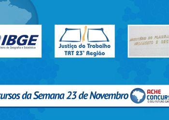 25 novos concursos e organizadora do pr�ximo concurso no IBGE