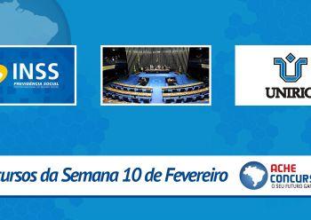 Senado planeja novo concurso e UNIRIO abre inscri��es