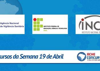 ANVISA e INCA recebem autoriza��o para novos concursos em 2016