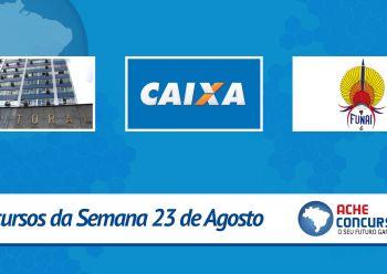 CAIXA e FUNAI abrem sele��es para est�gio; novos concursos t�m sal�rios de at� R$ 9 mil