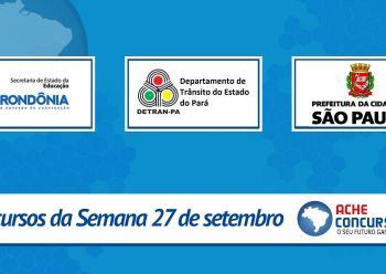 Concursos do TRE-PE, SEDUC-RO e TRT-SE abrem mais de 1.600 vagas