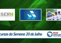 Concursos da semana - 20/07/2015