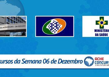 TRT da 24ª Região lança edital; veja os novos concursos da semana
