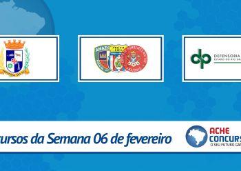 DPE-RS e Polícias do Amazonas terão concursos em 2017