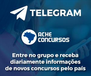 TELEGRAM Ache Concursos